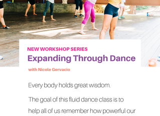 expanding through dance