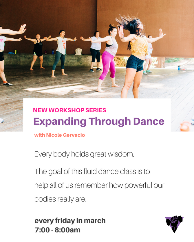 expanding through dance