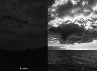 opposite sides of an ocean