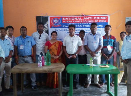 NATIONAL ANTI CRIME & HUMAN RIGHTS COUNCIL OF INDIA conducted the ST/SC. Awareness program on th
