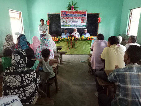 Awareness Program Conducted By NACHRCOI on 23rd Sept' 2018