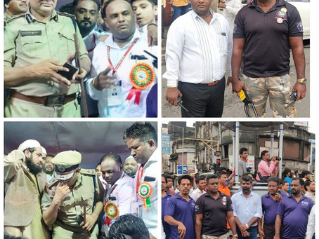 A Huge Thanks From Muslim & Hindu Community To Surat Police Commissioner