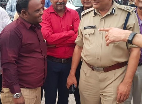 Upcoming Muslim Festival Muharram's Safety Protocol Surat Police Commissioner Mr.Hare Krishna Saheb