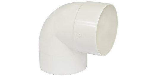 JOELHO 90° PVC BRANCO