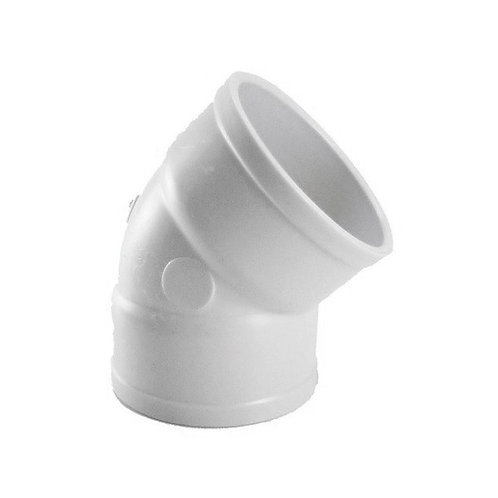 JOELHO 45° PVC BRANCO