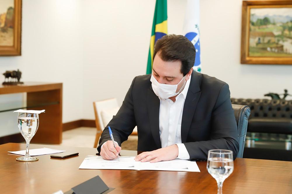 Governador Carlos Massa Ratinho Junior. - Foto: Reprodução/AEN