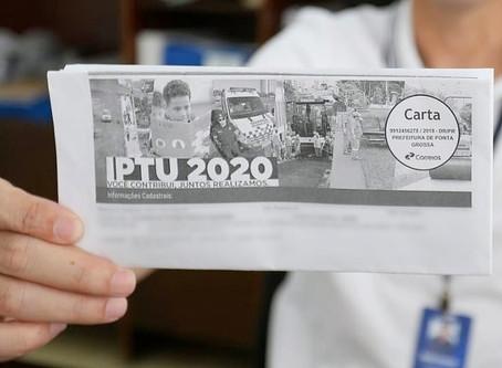 Prazo para pedido de revisão do IPTU 2020 termina nesta segunda-feira (31)