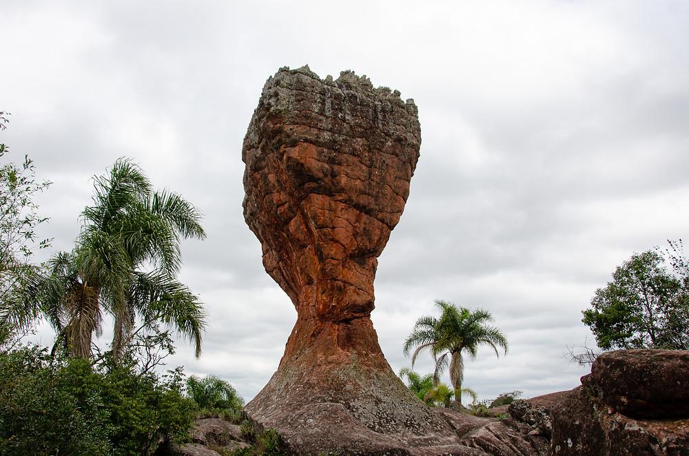 Parque Estadual de Vila Velha. Foto: Reprodução/Arion Ferreira/AEN