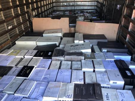 PRF apreende cerca de 700 garrafas de vinho argentino em Palmeira