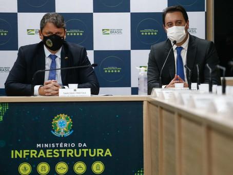 Ratinho Junior diz que governo federal vai apresentar nova proposta para pedágios do PR