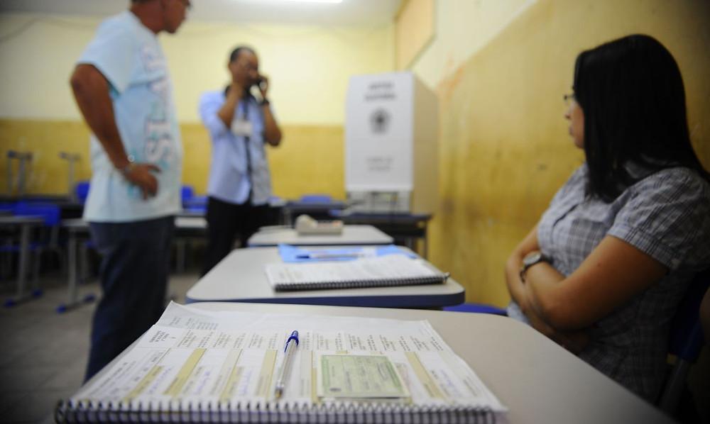 No Paraná, 88 mil mesários devem trabalhar durante a eleição. Foto - Divulgação/Agência Brasil