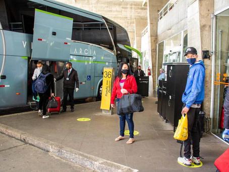 Passagens de ônibus rodoviários ficam cerca de 6% mais caras a partir de amanhã no Paraná