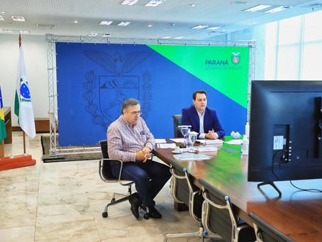 Paraná cobra rapidez na aplicação das vacinas contra a Covid-19 nos municípios
