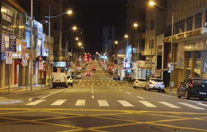 Avenida Vicente Machado, em Ponta Grossa. Foto: Divulgação/Arquivo/aRede