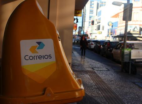 Cerca de 50% dos funcionários dos Correios de Ponta Grossa aderiram à greve nacional