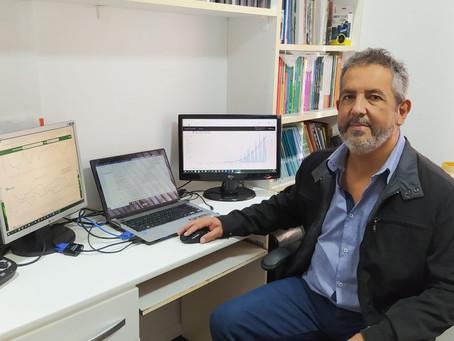 Professor da UEPG é destaque no estado com pesquisa sobre relação do clima com a Covid-19