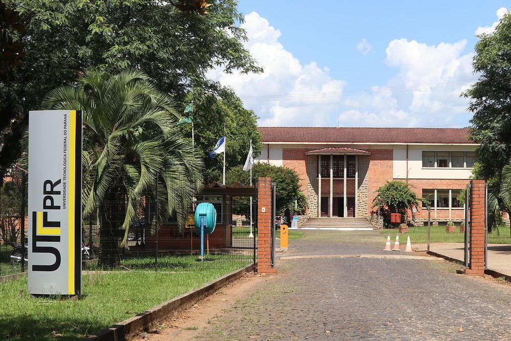Universidade Tecnológica Federal do Paraná (UTFPR), sede de Ponta Grossa. Foto: Divulgação/UTFPR