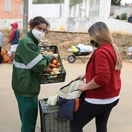 Programa Feira Verde está em atividades em bairros de PG