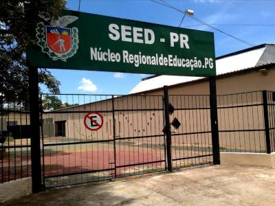 Retorno: 95% dos colégios estaduais estão abertos em Ponta Grossa