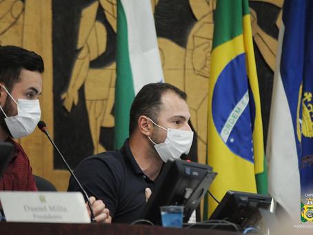 Entrevista: Presidente da Câmara comenta atuação do legislativo em Ponta Grossa