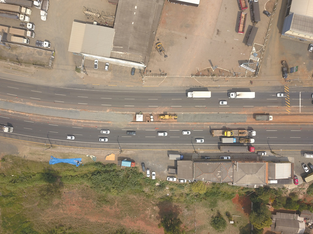 Km 173 da Avenida Souza Naves. Foto: Terra Verde/CCR RodoNorte