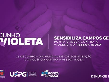 Começa hoje campanha de conscientização contra violência à pessoa idosa em PG