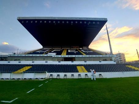 Estádio Germano Krüger passa por sanitização antes e após as partidas