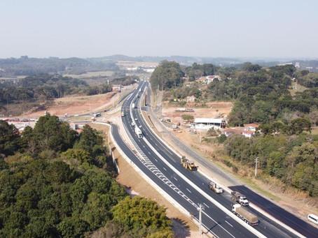 Novo acesso para Castrolanda e Socavão será liberado amanhã