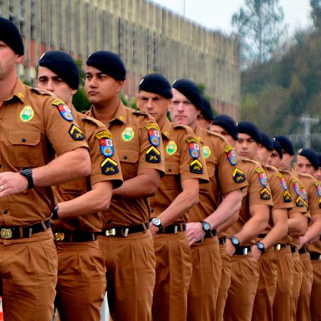 Inscrições para concurso da Polícia Militar do Paraná estão abertas