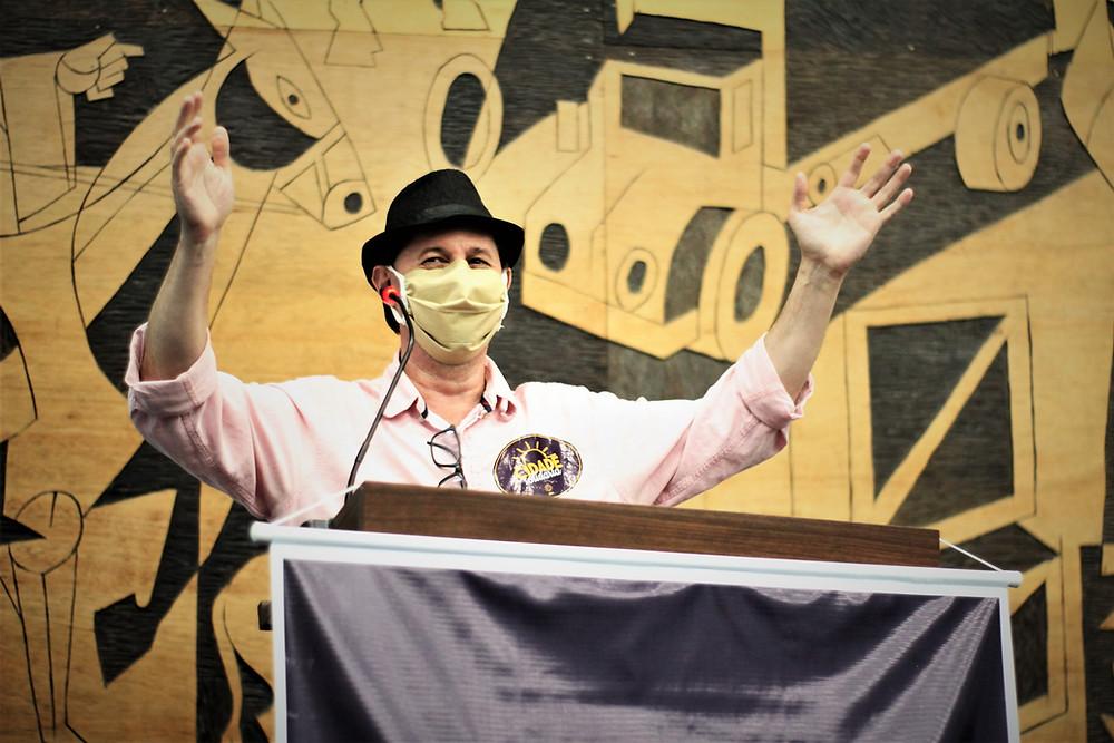 Sérgio Gadini é jornalista e atua como professor na Universidade Estadual de Ponta Grossa.Foto:Divulgação