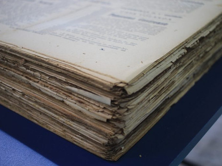 Museu digitaliza acervo de um século de jornais dos Campos Gerais