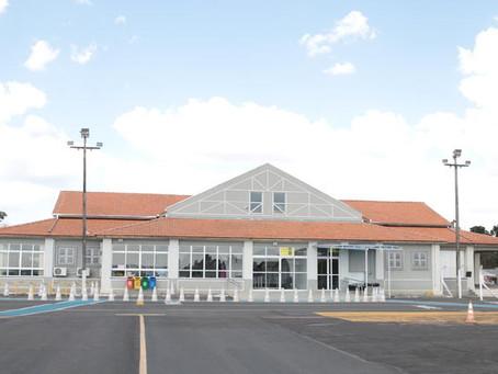 Mais de 40 mil passageiros passaram pelo Aeroporto Sant'Ana no ano passado