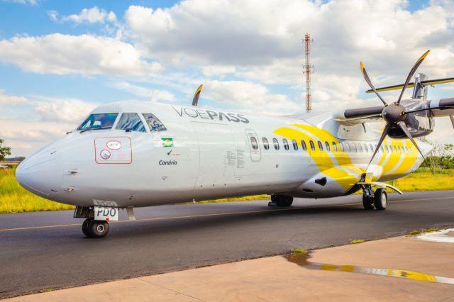 Em função da pandemia, a empresa havia suspendido os voos em março. Foto: Divulgação/Voepass