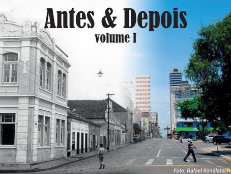 E-book recria fotos e compara pontos históricos de PG ao longo do tempo