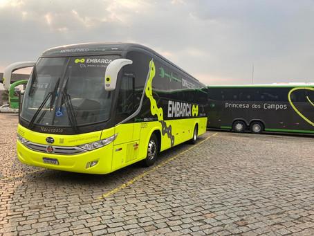 Primeiro ônibus elétrico de transporte rodoviário do Brasil é de Ponta Grossa