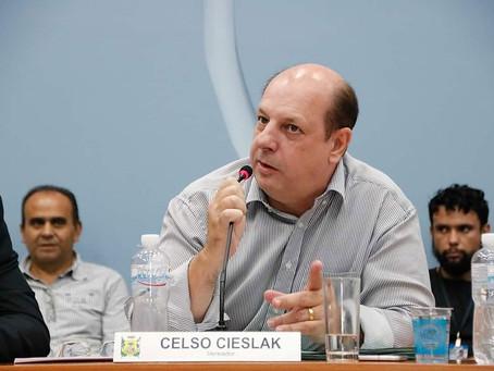 Celso Cieslak assume vaga na Câmara de Ponta Grossa nesta tarde