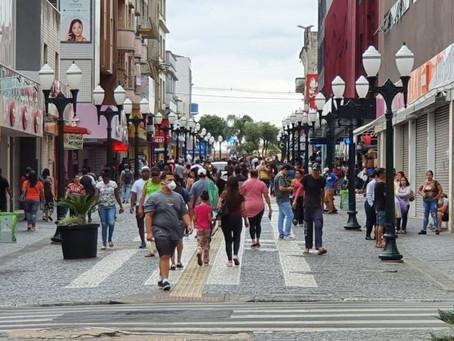Vendas do comércio de Ponta Grossa aumentam 3,54% em julho