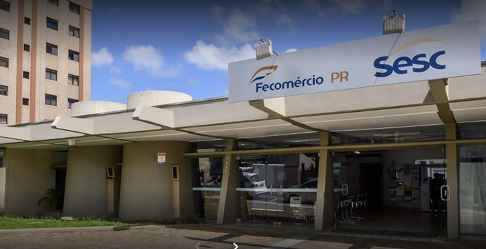 Sesc Ponta Grossa. Imagem: Divulgação/Google Maps