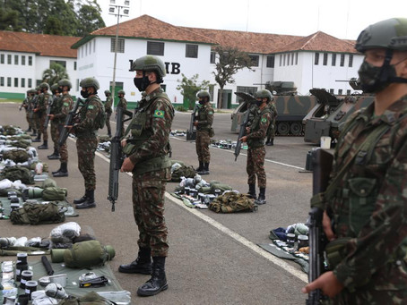 Militares de PG se preparam para visita do Comandante do Exército Brasileiro na semana que vem