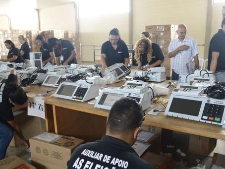Transporte de urnas eletrônicas começa nesta quinta-feira em Ponta Grossa