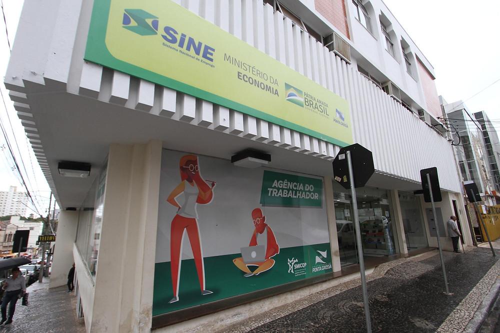 Agência do Trabalhador de Ponta Grossa. Foto: Divulgação