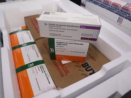 Covid-19: Paraná deve receber mais de 450 mil doses da vacina até amanhã