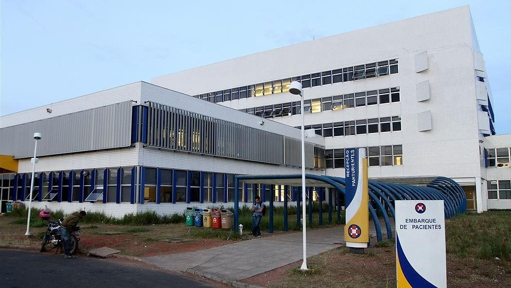 Hospital Universitário Regional dos Campos Gerais. Imagem: Divulgação/UEPG