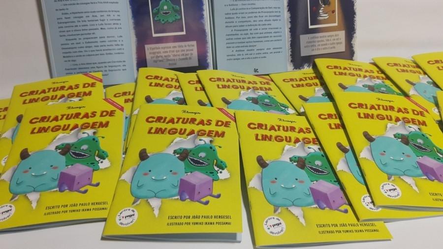 Livro 'Criaturas de Linguagem', de João Paulo Hergesel. Foto: Divulgação