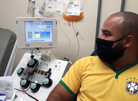 Hemepar lança campanha de doação de plasma pelos paranaenses