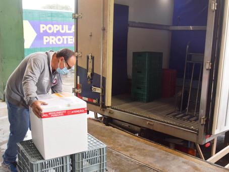Regional de Ponta Grossa deve receber 19 mil doses de vacina para primeira aplicação