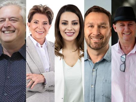 Confira a agenda dos candidatos à Prefeitura de PG desta segunda-feira (09)