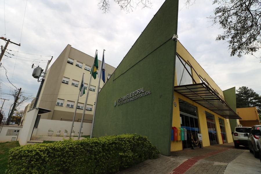 Fórum Eleitoral de Ponta Grossa. Foto:Divulgação/Arquivo/aRede