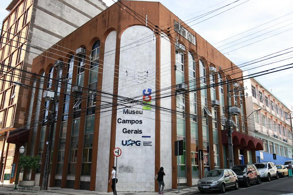 Museu Campos Gerais de Ponta Grossa. Foto: Divulgação/Luciane Navarro/UEPG