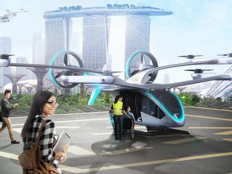 Silvio Barros: O 'carro voador' da Embraer